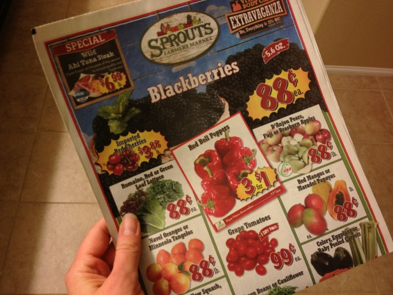 Blackberries at Sprouts